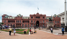 Belgrano General Casa Rosada Argentina Stock Photos