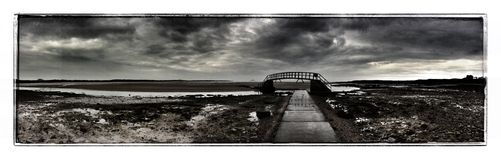 Belhaven Bridge Stock Image