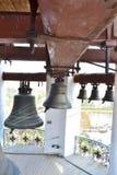 Belhi in un belltower Immagine Stock