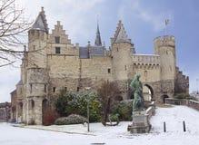 belia Антверпен Замок Steen Стоковое фото RF