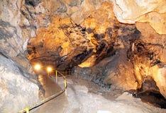 Belianska cave, Slovakia Stock Photography
