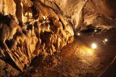 Belianska cave, Slovakia Royalty Free Stock Photo