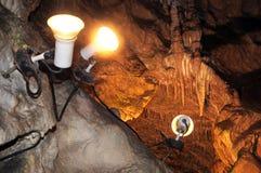Belianska cave, Slovakia Royalty Free Stock Photos