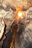 Belianska cave, Slovakia Royalty Free Stock Images