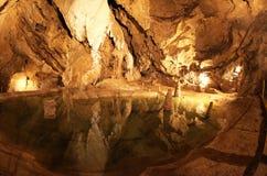 Belianska cave, Slovakia Royalty Free Stock Image