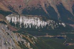 Belianska kopa, trawiasty zaokrąglony wzgórze w Wysokim Tatras, Sistani Fotografia Stock