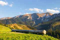 Belianske Tatra Mountains, Slovakia Stock Photo
