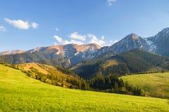 Belianske Tatra Mountains Stock Images