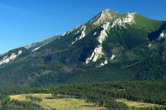 Belianske Tatra in Slovacchia Immagini Stock