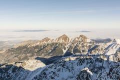 Belianske Tatras Fotografie Stock Libere da Diritti