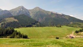 Belianske Tatras, Slovakien, Europa Arkivbilder