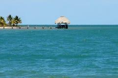 Belice, península Placencia Fotografía de archivo libre de regalías