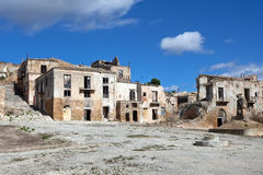 Belice valley, abandoned village Stock Photography