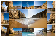 Beliche Beach - Portugal, Spain Stock Photo