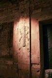 Belichtete alte bas Chesmenskaya-Galerie Lizenzfreies Stockbild