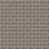 Belichtete nahtlose Beschaffenheit des Volumens von quadratischen und runden Fliesen lizenzfreie abbildung