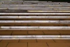 Belichtete Treppen Stockfotos