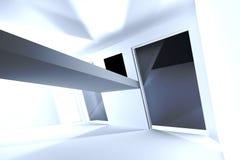 Belichteter Dachboden stock abbildung