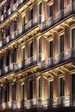 Belichtetes Gebäude Lizenzfreies Stockbild