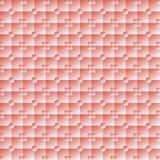 Belichtetes Quadrat und runde rosa Fliesen vektor abbildung