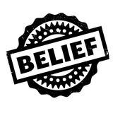 Belief rubber stamp. Grunge design with dust scratches. Effects can be easily removed for a clean, crisp look. Color is easily changed royalty free illustration