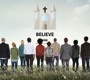 Believe Belief Faith Imagination Mystery Mindset Concept Royalty Free Stock Photo