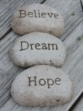 Believe Dream Hope Royalty Free Stock Photo