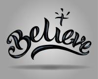 Believe Stock Photography