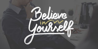 Free Believe In Yourself Confident Encourage Motivation Concept Stock Photo - 80324930