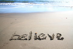 Believe. Stock Images