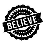 Believe stamp rubber grunge. Believe stamp. Grunge design with dust scratches. Effects can be easily removed for a clean, crisp look. Color is easily changed Stock Photos