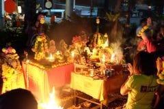 Believe it. The worship of Hindu deities stock photo
