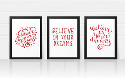 Believe in your dreams Royalty Free Stock Photography
