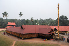 Believers praying at the hindu temple of Kollam Royalty Free Stock Image