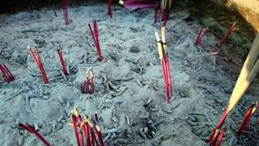 Believes. #believe #incense ?? #Buddha #abstract #thailand #z1f #ttzanzone Stock Images