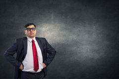 He believes in success Royalty Free Stock Photography