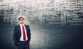 He believes in success Stock Images