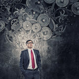 He believes in success Royalty Free Stock Images