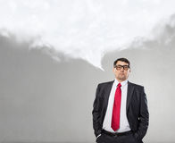 He believes in success Royalty Free Stock Photos