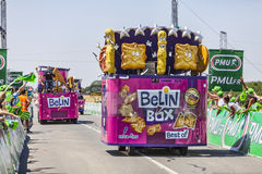 Belin Box Vehicles Stockbilder