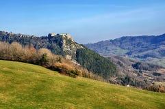 Belin Fort dans Salins-les-Bains Images libres de droits