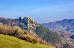 Belin Fort in Salins-les-Bains Stock Photography