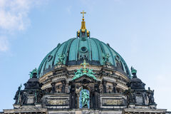 Belin katedry dach Zdjęcie Royalty Free