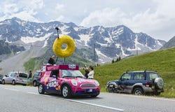 Belin Vehicle - Tour de France 2014 Stockbilder