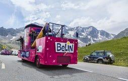 Belin Vehicle - Tour de France 2014 Lizenzfreies Stockbild