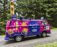 Belin Vehicle - Tour de France 2014 Royalty Free Stock Photo