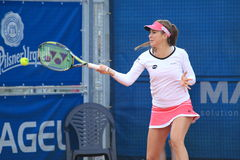 Belinda Bencic - J&T Banka Prague Open 2015 Stock Photography