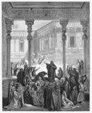 Belio de Daniel Confounding The Priests Of libre illustration