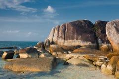 Belitung's stones Stock Photo
