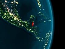Belize alla notte Fotografia Stock Libera da Diritti